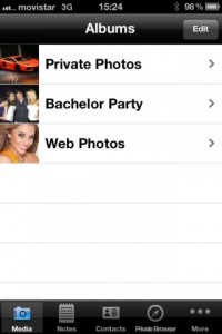 Folder+ for iPhone