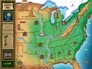 North & South for iPad