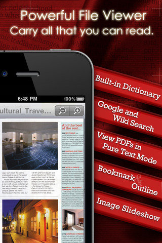 PDF Reader iPhone Edition iPhone App Review