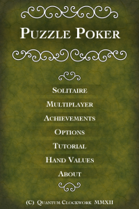 Puzzle Poker iPhone App Review