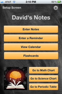 School Notes for iPhone