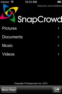 Snapcrowd for iPhone