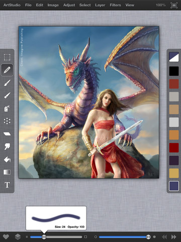 ArtStudio for iPad App Review