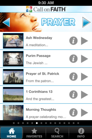 Call On Faith iPhone App Review