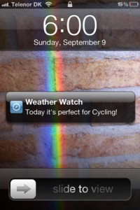Weather Watch for iPhone