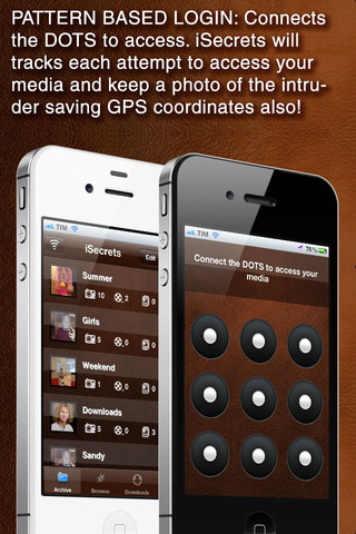 iSecrets Media Vault iPhone App Review