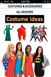 Costume Ideas: Your iPhone, Your Costumes, Your Party