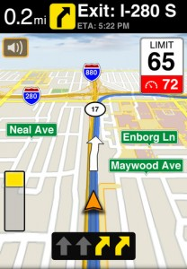 MotionX GPS Drive for iPhone
