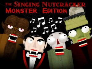 Singing Monster Nutcracker for iPad