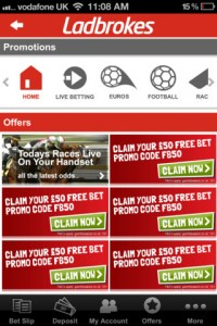 Sports Bet for iPhone