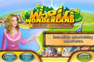 World Wonderland Rivers Mahjong for iPhone