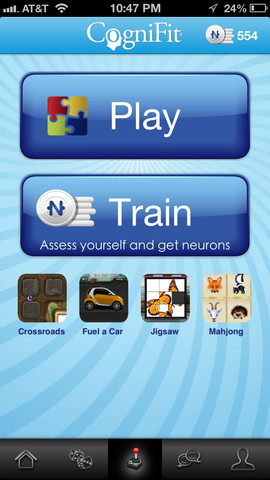 cognifit1 Work Out Your Neurons with CogniFit Brain Fitness