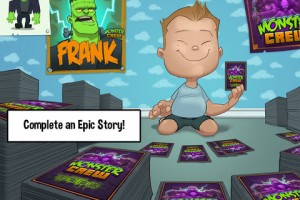 Monster Crew for iPhone 2 300x200 Monster Crew: Spooky Platforming, Scary Fun