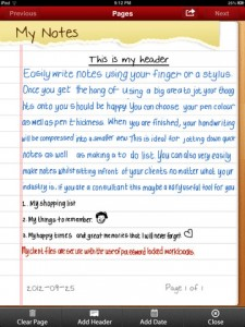 Simply Write for iPad