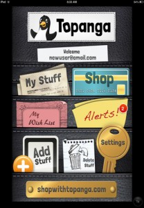 Topanga for iPhone