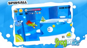 frog1 300x168 Skate Your Way to the Goal with Frog on Ice