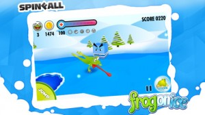 frog2 300x168 Skate Your Way to the Goal with Frog on Ice