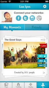 moment me ss1 168x300 Moment.me: an Amazing Social Networking App