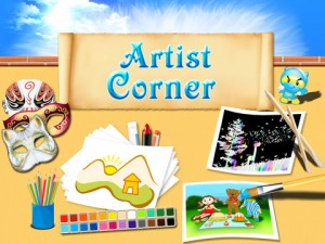 Artist Corner for iPad 1 300x225 Artist Corner: Enabling Art on the iPad Never Was So Easy!