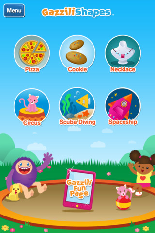 GazziliShapes iPhone App Review