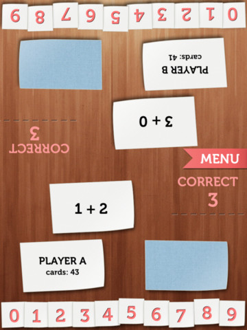 Math Cards Learn and Play Game iPhone App Revie