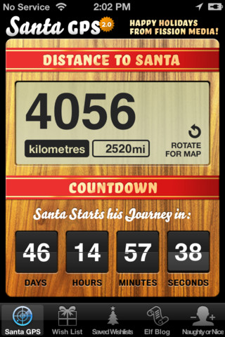 Santa GPS iPhone App Review