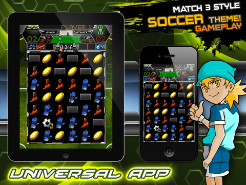 Soccer Puzzle League iPhone App Review Soccer Puzzle League: A Little Bit of Everything All Wrapped Into One