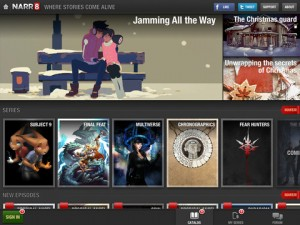 narr1 300x225 NARR8 Brings Top Notch Graphic Novels Reading to the iPad for Free