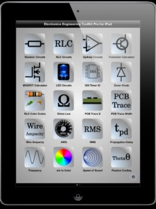 EETools1 225x300 Electronics Engineering Toolkit Pro for iPad: Calculations and Conversions Tools Galore