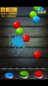 Splahs It for iPhone 1 168x300 Splash it!: Bubble Popping Bliss On Your iPhone