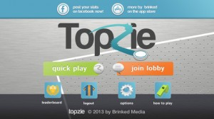 topzie ss1 300x168 Topzie: Air Hockey Meets Soccer in This New Multiplayer Game