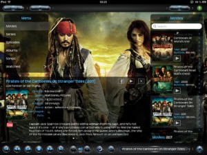 Consilium B for iPad 1 300x225 Consilium B: XBMC remote: Putting the Control of XBMC Back in Your Hands