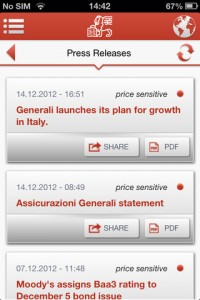 Generali for iPhone
