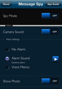Message Spy for iPhone
