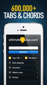 Ultimate Guitar Tabs for iPhone
