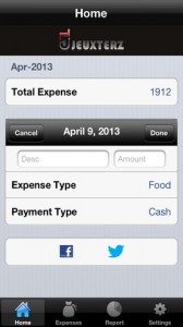 Finance Manager for iPhone 1 168x300 Finance Manager: Keep Your Money Under Your Thumb . . . Literally