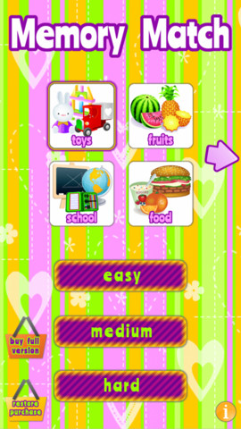 memory2 Keep Little Ones Entertained with Memory Match HD for Kids