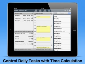 Time Optimizer iPad App Review
