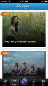 Levitagram for iPhone