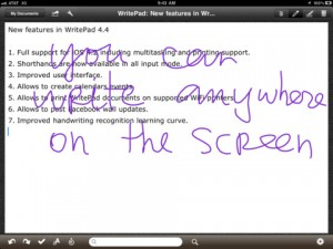 WritePad for iPad