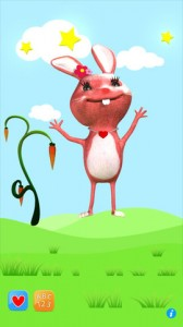 Talking Rabbit Toddler ABC Song iPhone App Review