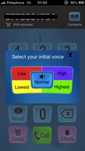 Call Voice Changer for iPhone