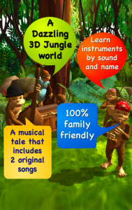Picture 1 189x300 You and Your Kids Will Go Ape Over Gorilla Band 3D