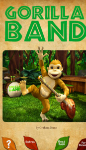 Picture 2 173x300 You and Your Kids Will Go Ape Over Gorilla Band 3D
