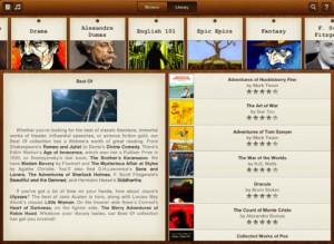 Free Books iPad App