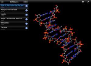 Molecules iPad App