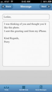 Card2You iPhone App Review