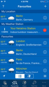 WeatherPro for iPhone