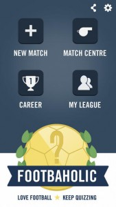 Footbaholic for iPhone