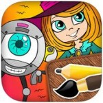 PicoToons Colouring Book: Awesome Coloring Options!